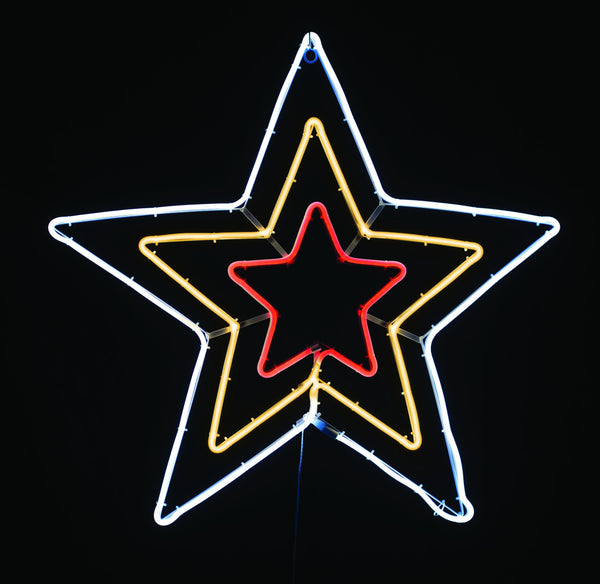 Neon LED Flex Strip Star