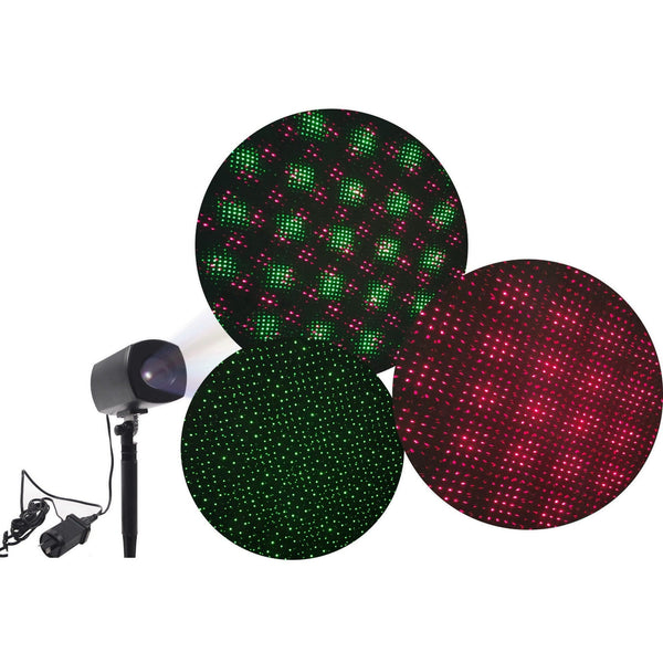 Outdoor Laser Display - Red and Green