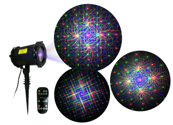 LED LASER RGB 8 IN 1 COSMIC BLUETOOTH SPEAKER