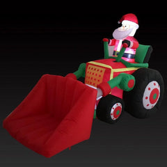 NEW ARRIVAL: AIRPOWER SANTA BULLDOZER 220cm