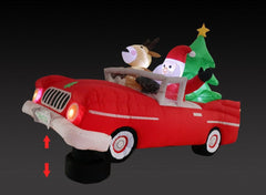 AIRPOWER SANTA LOW RIDER 230cm - Christmas World