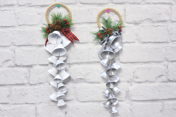 Glittering Jingle Bells Hanger - 17pc