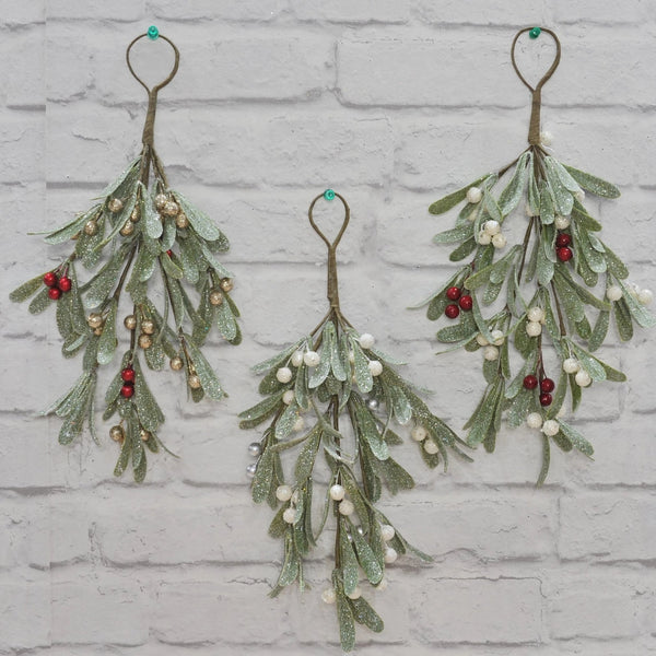 Mistletoe Swag and Hanger - 37cm