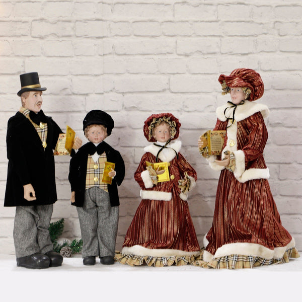 Traditional Caroller Family