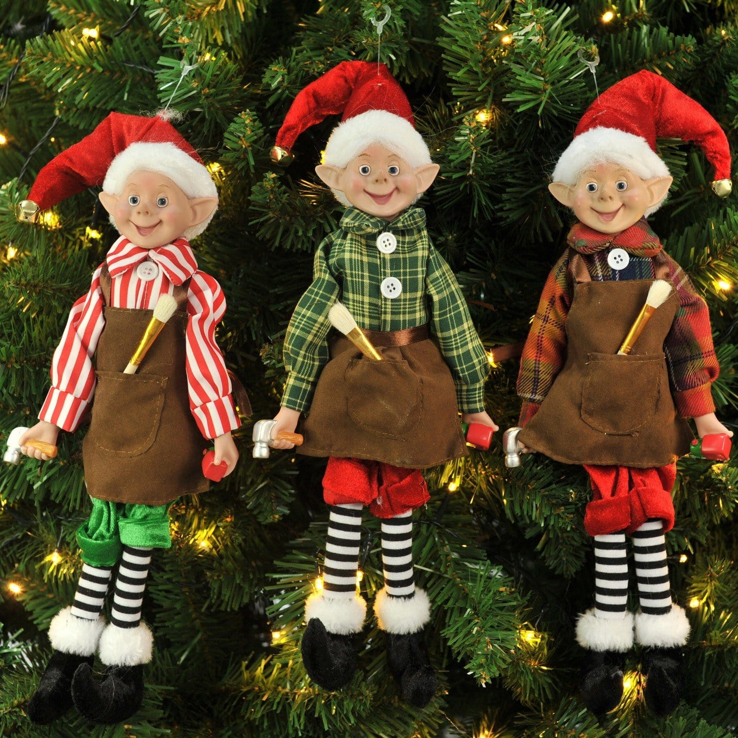 Toy Maker Elf Doll - 35cm