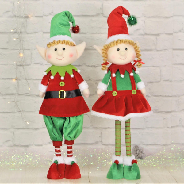 Boy and Girl Standing Elves