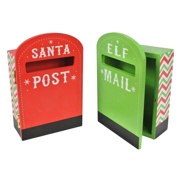 Mini Christmas Post Box