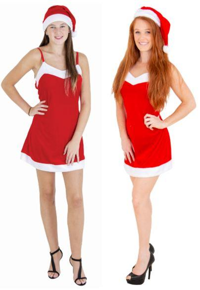 Sexy Santa Dress with Hat
