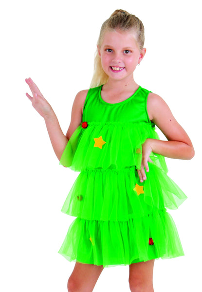 DRESS CHRISTMAS TREE W/DECORATIONS KIDS