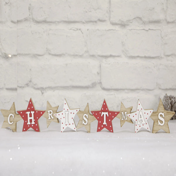 Christmas Block Star Decoration