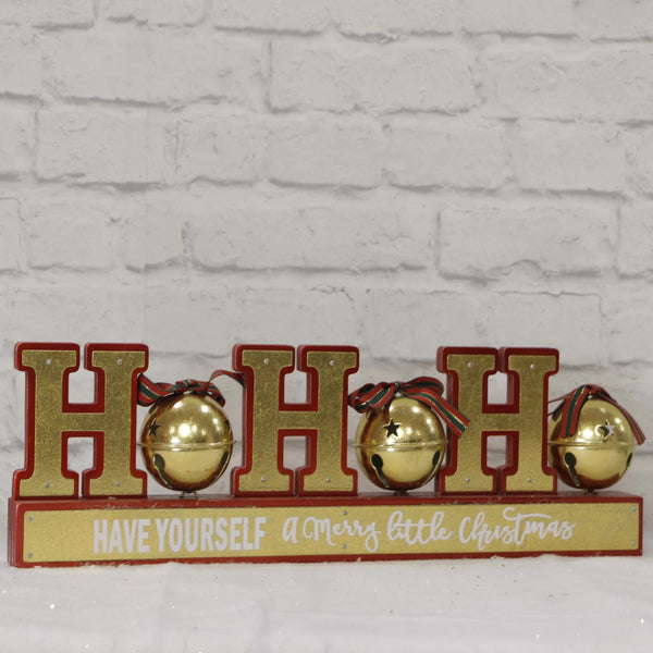 Ho Ho Ho Table Sign