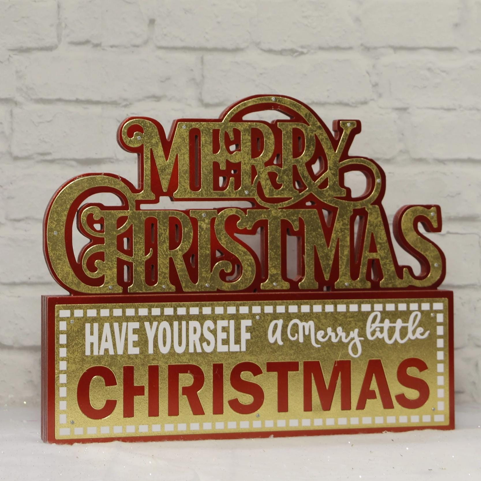 Have Yourself a Merry Christmas Table Sign