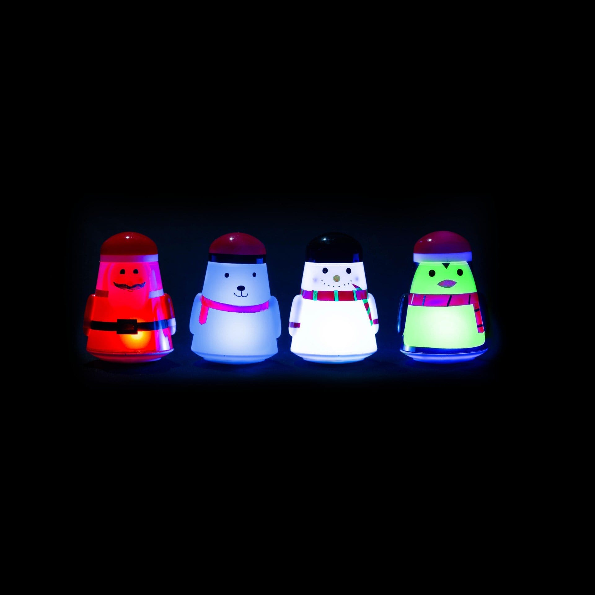 Light-Up Wobbly Characters