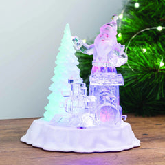 LED Musical Christmas Scene - 20cm