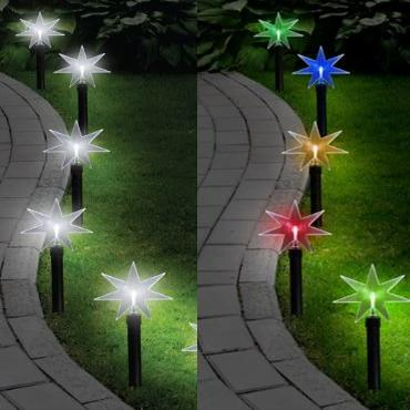 LED Path Stake - Star