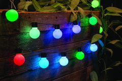 40 LED Lights - Colour Change Party Globe Lights