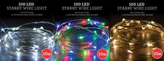 Starry Wire Lights - 10m