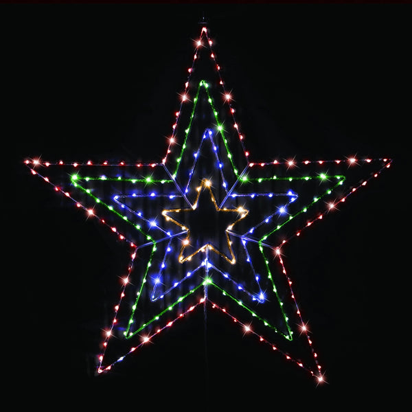 LED Starry Wire Star - 80cm