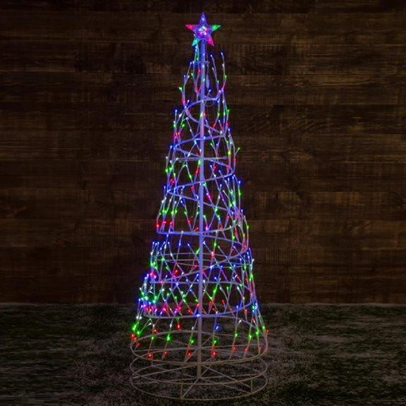 LED Giant Spiral Christmas Tree - 2.5m