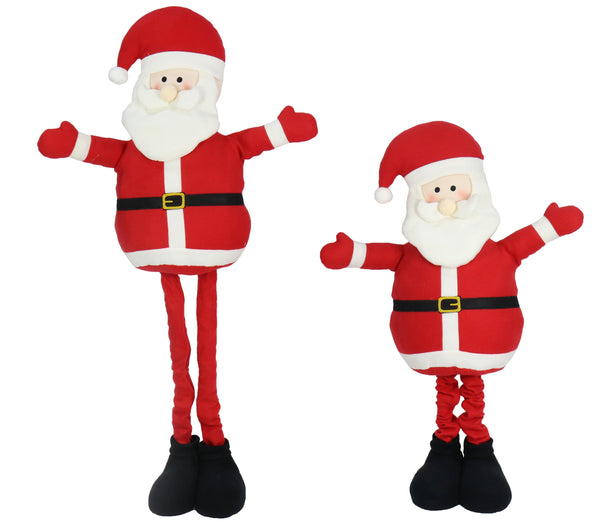 SANTA EXTENDABLE FIGURINE