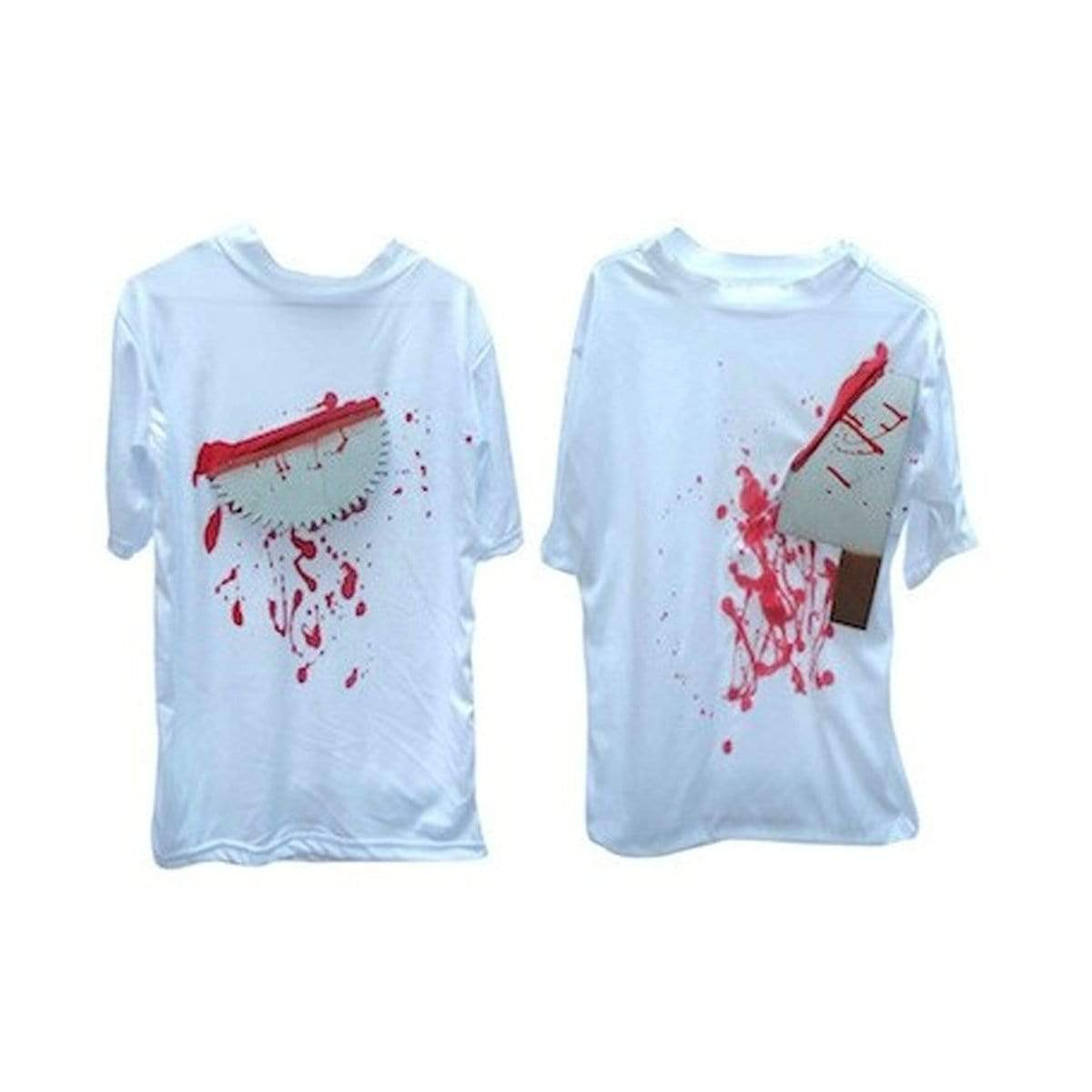 HALLOWEEN 3D T-SHIRT W/WEAPON ASST - Christmas World