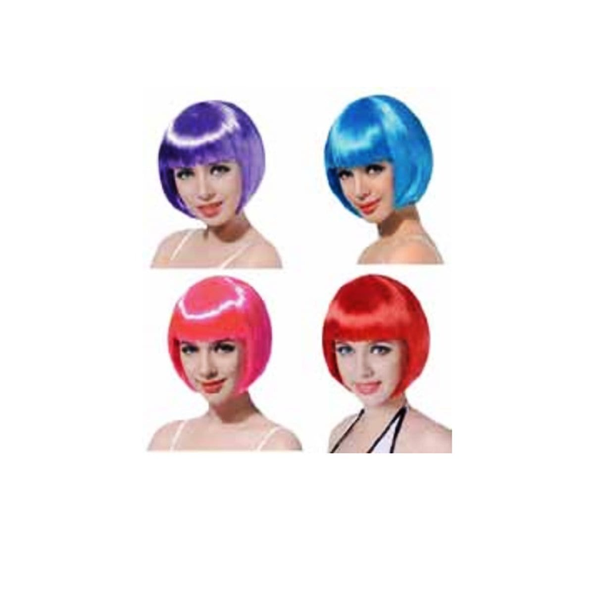 PARTY WIG COL LADIES ASST