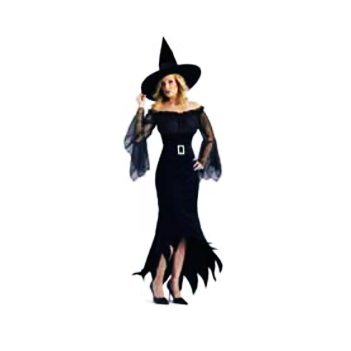 COSTUME WITCH OFF SHOULDER LADIES - Christmas World