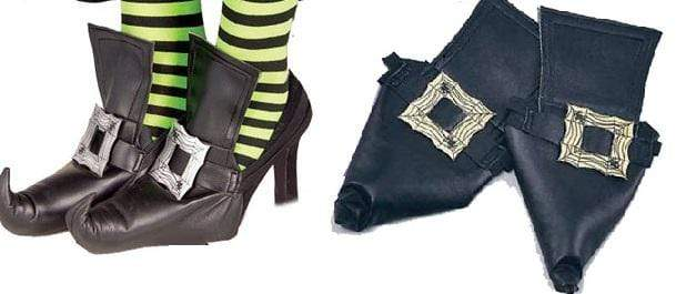 WITCH SHOE COVERS ADULT