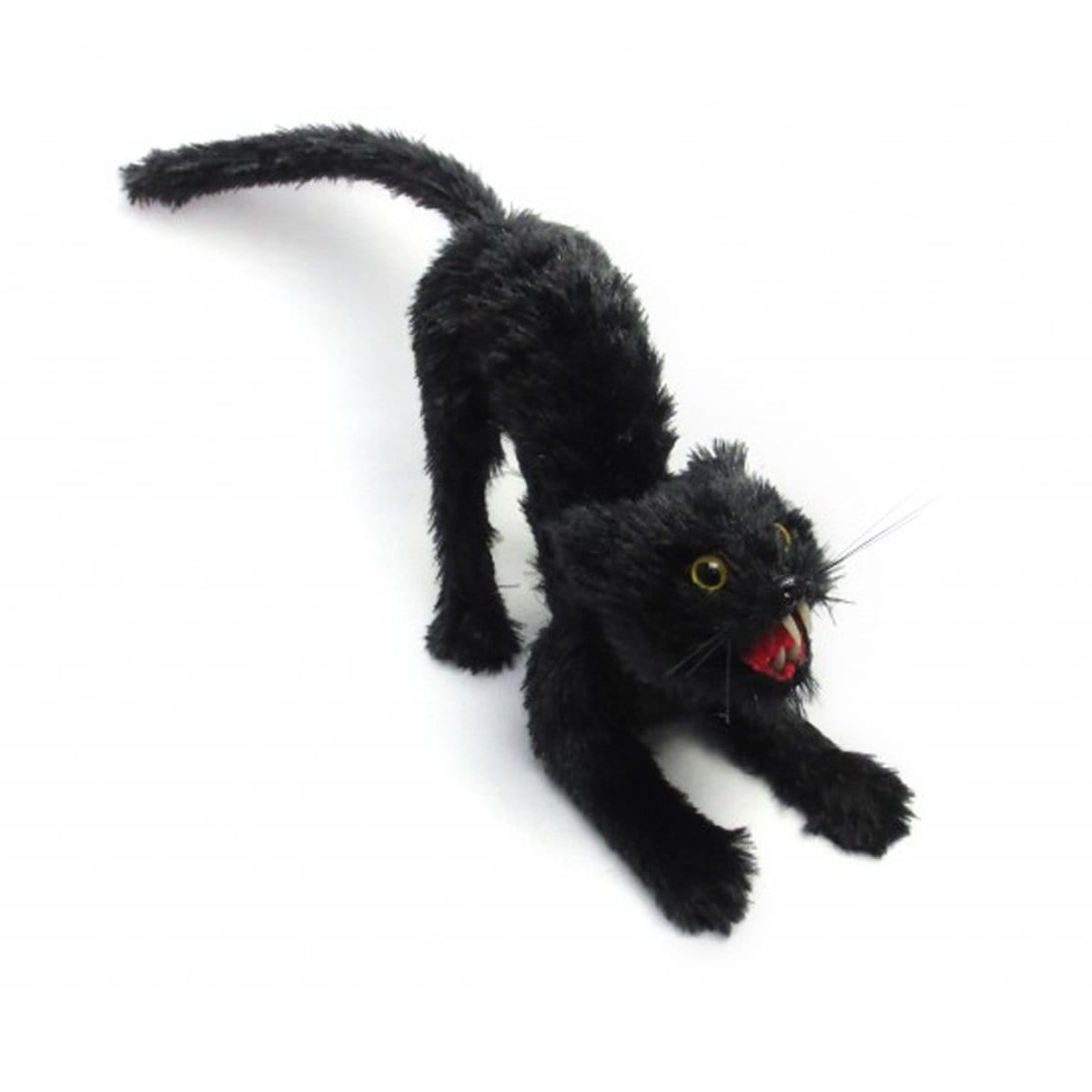 HALLOWEEN STUNNED BLACK CAT 30cm