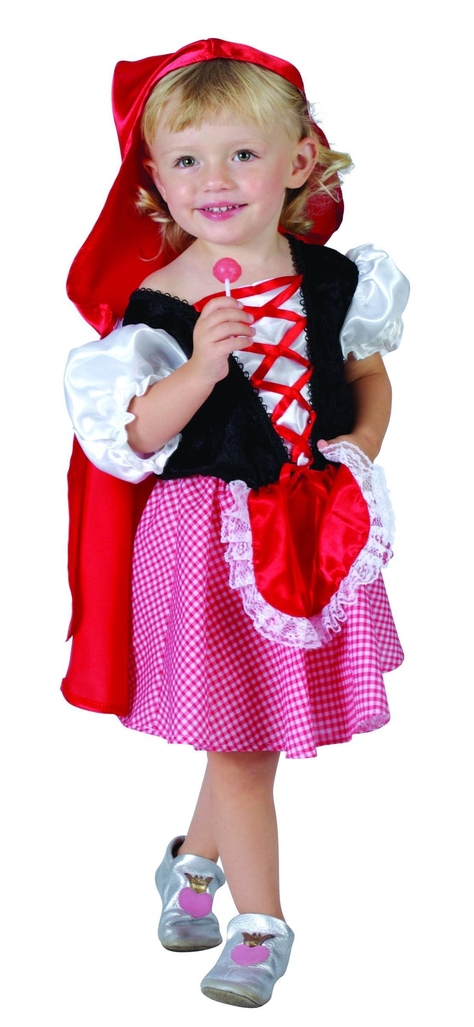 COSTUME RED HOODED GIRL TODDLER - Christmas World