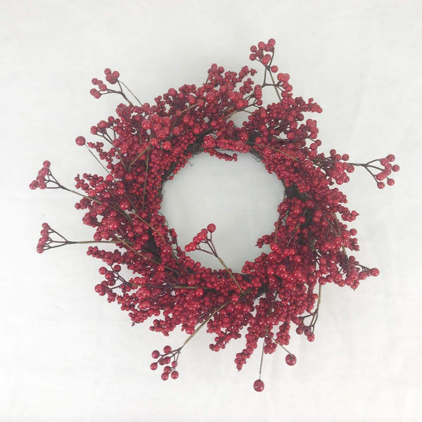 Red Berry Wreath - 55cm