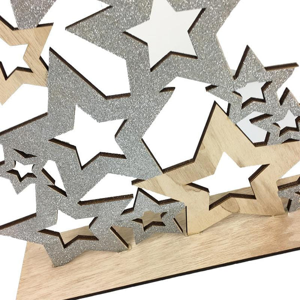 Diecut Star Tower