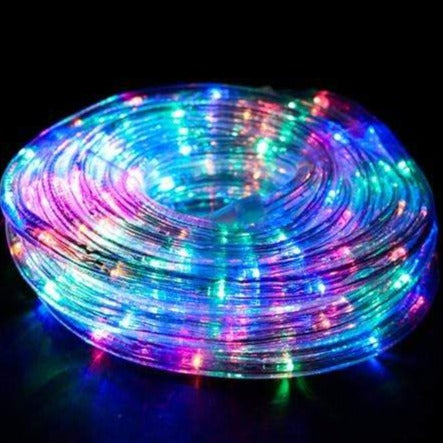9M Connectable LED Rope Light   Multi Colour   Christmas World