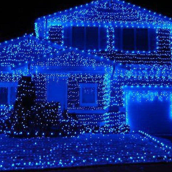 400 LED Fairy Lights - Blue - 40 meters