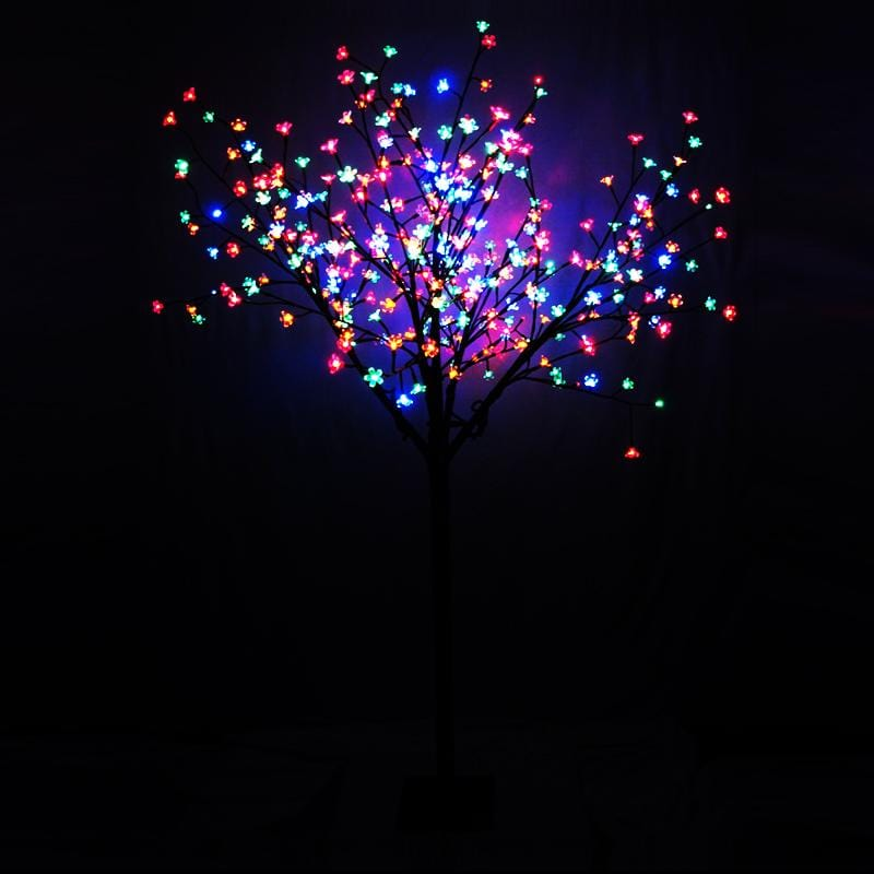 LED Cherry Tree - Multicolour - 2.5m