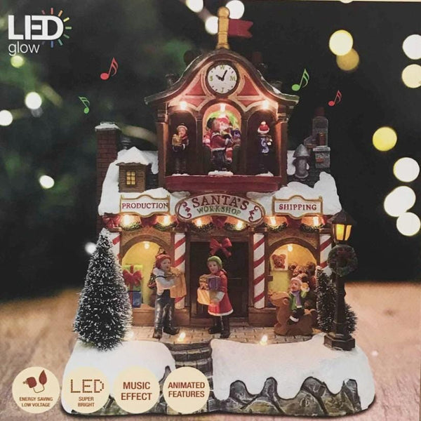 LED Moving Christmas Shop