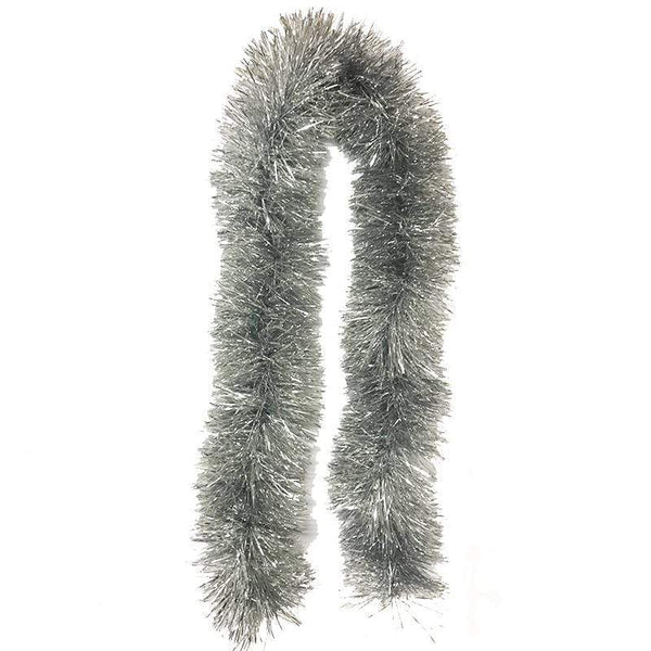 Chunky Silver Tinsel - 2m