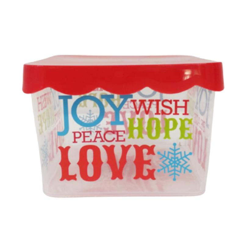 CHRISTMAS COOKIE CONTAINER