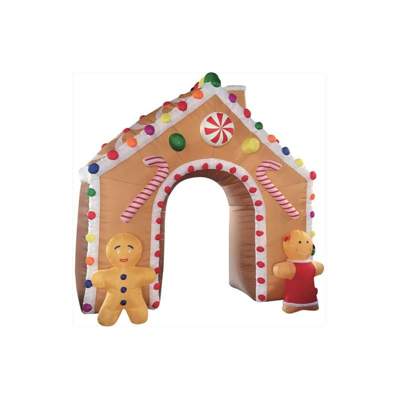 Inflatable GIANT GINGERBREAD ARCH 4.5 Meter Tall - Christmas World