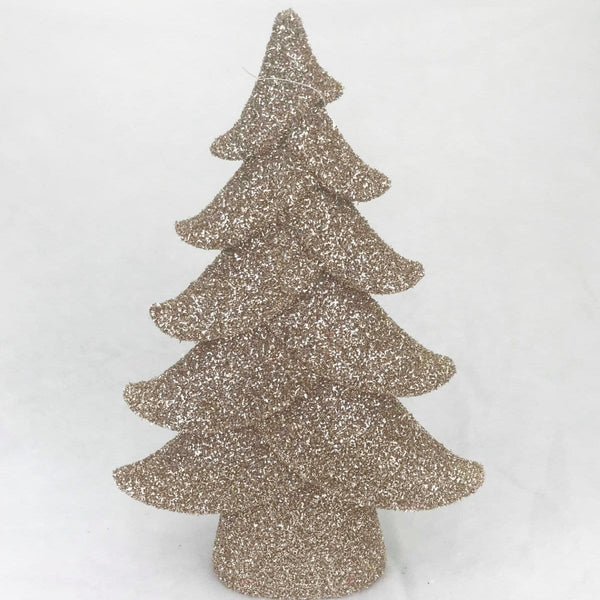 Glittering Gold Deco Tree