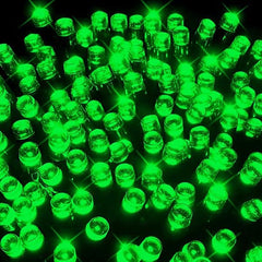 400 LED Fairy Lights - Green - 40 meters