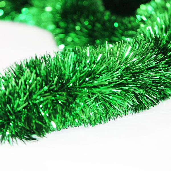 Green Tinsel - 3m