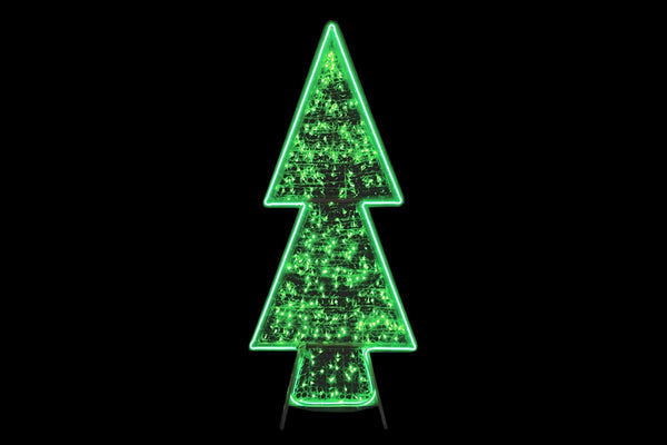 NEW ARRIVAL: NEON LED FLEX STRIP CHRISTMAS TREE ACRYLIC LIGHT NET 180cm