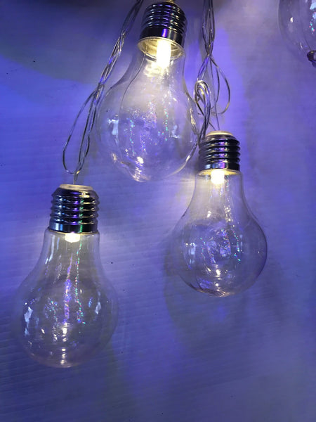 16 LED Edison Party Globes - Christmas World