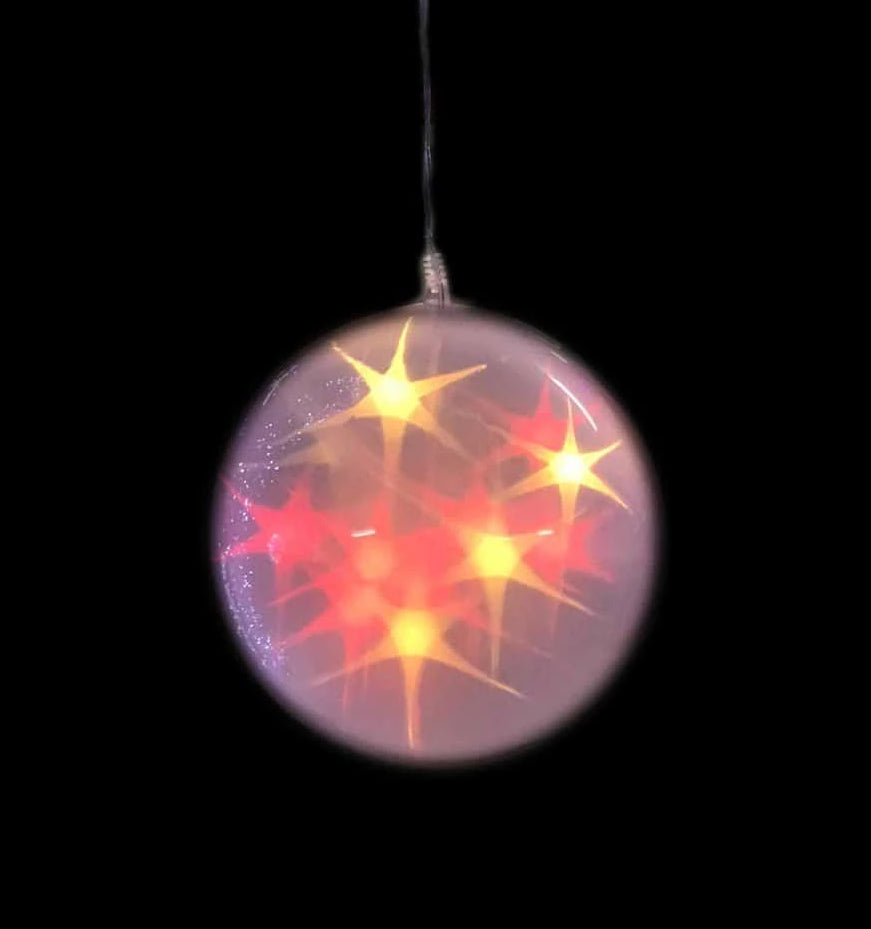 LED Laser Star Balls - Multicolour