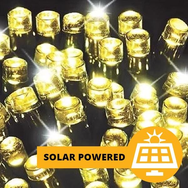 Solar LED Lights 500 - Warm White - 40 meters