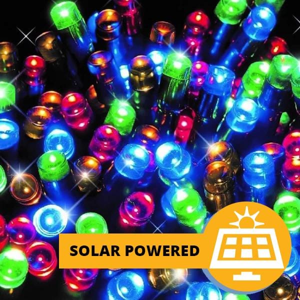 Solar LED Lights 200 - Multicolour - 16 meters
