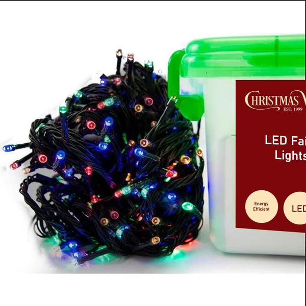 600 LED Fairy Lights - Multicolour - 60 meters