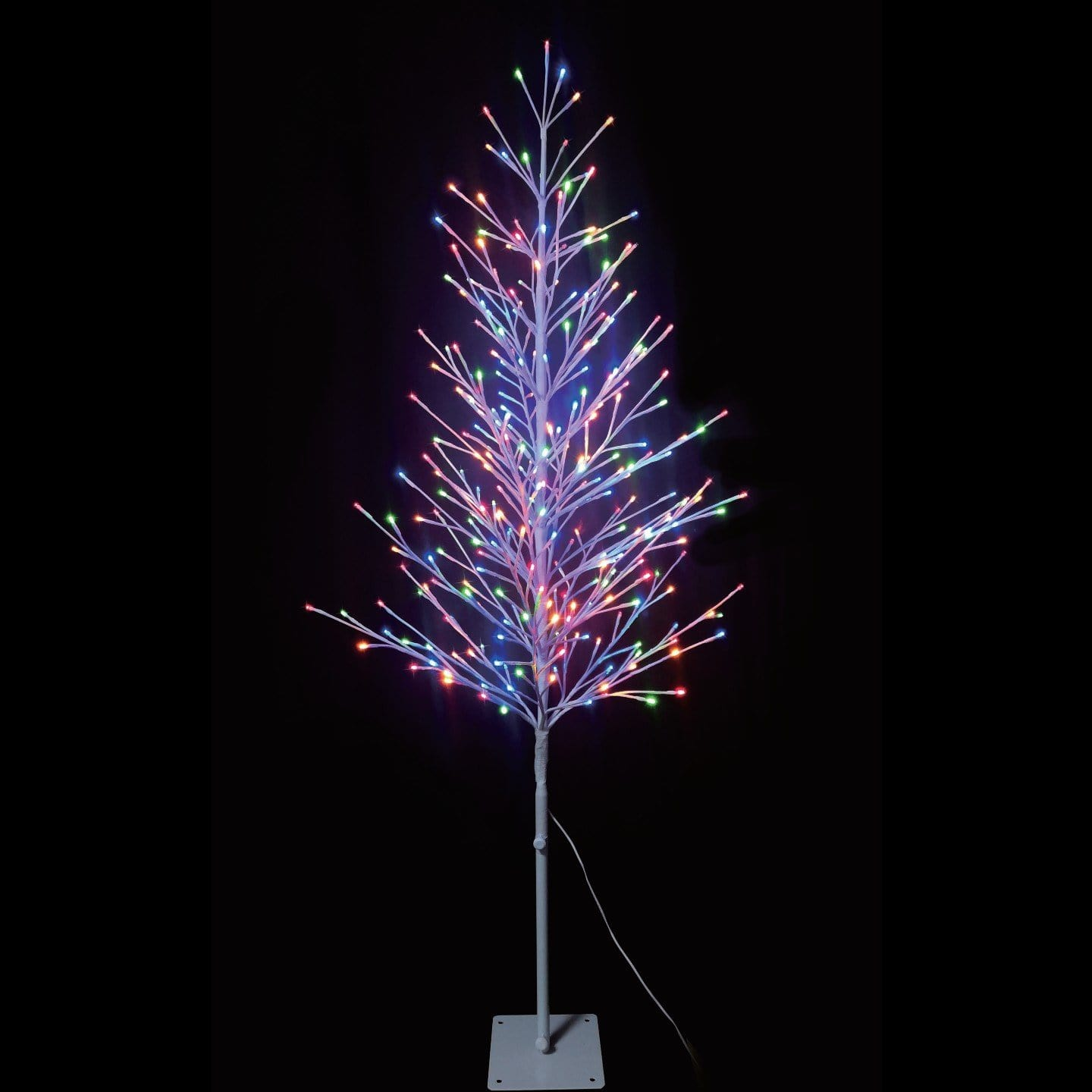 LED Starburst Tree - Multi - 2.6m