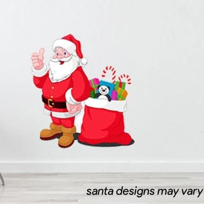 Santa Room Stickers 60cmx32cm
